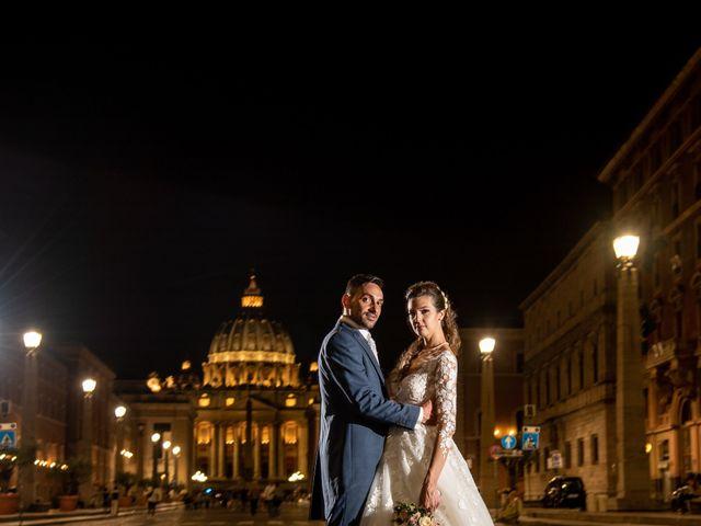Il matrimonio di Simona e Carmelo a Casperia, Rieti 84