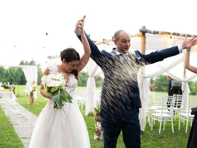 Il matrimonio di Lorenzo e Tiziana a Pombia, Novara 21