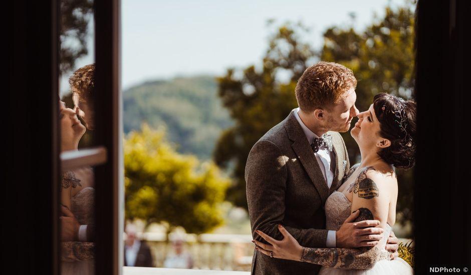 Il matrimonio di David e Vikki a Lucca, Lucca