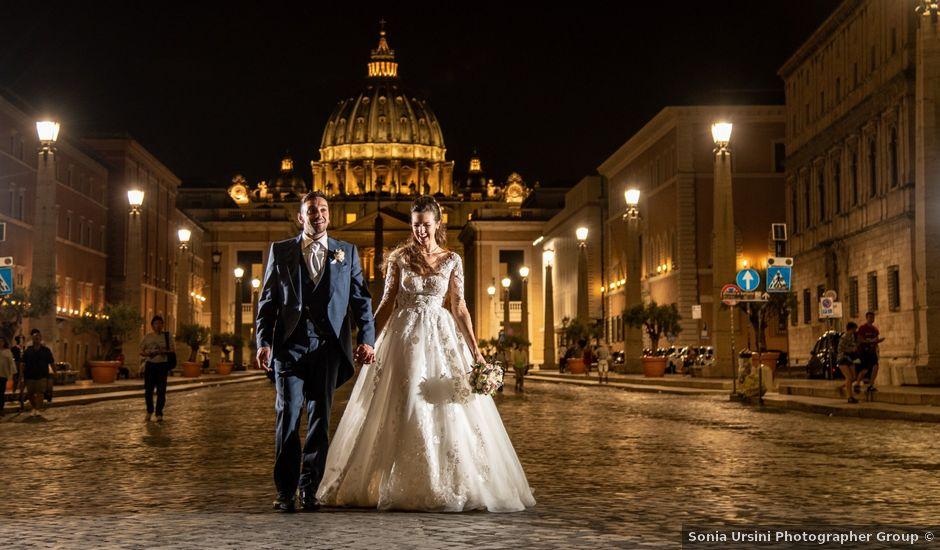 Il matrimonio di Simona e Carmelo a Casperia, Rieti