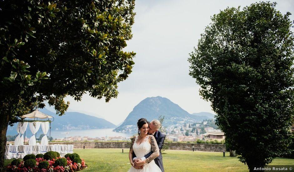 Il matrimonio di Stefan e Federica a Lugano, Ticino