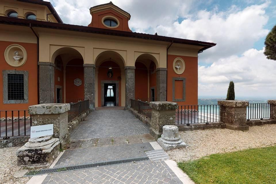 Villa del Cardinale - Punta San Michele 3d tour
