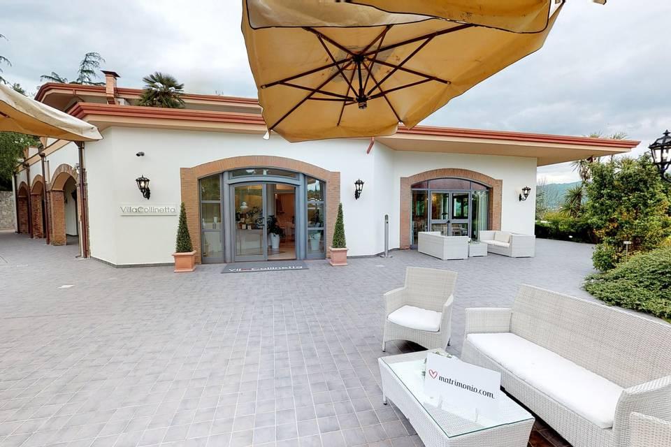 Villa La Collinetta 3d tour