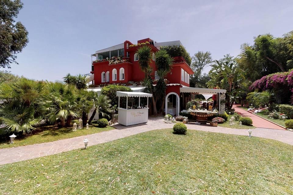 Villa Vittoria Posillipo 3d tour