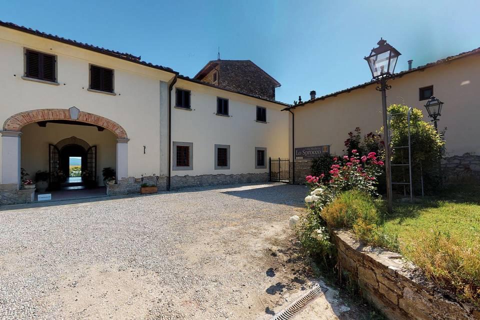 Villa Medicea Lo Sprocco 3d tour