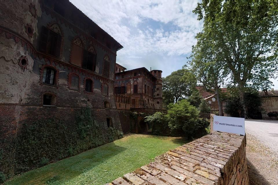 Castello di Piovera 3d tour