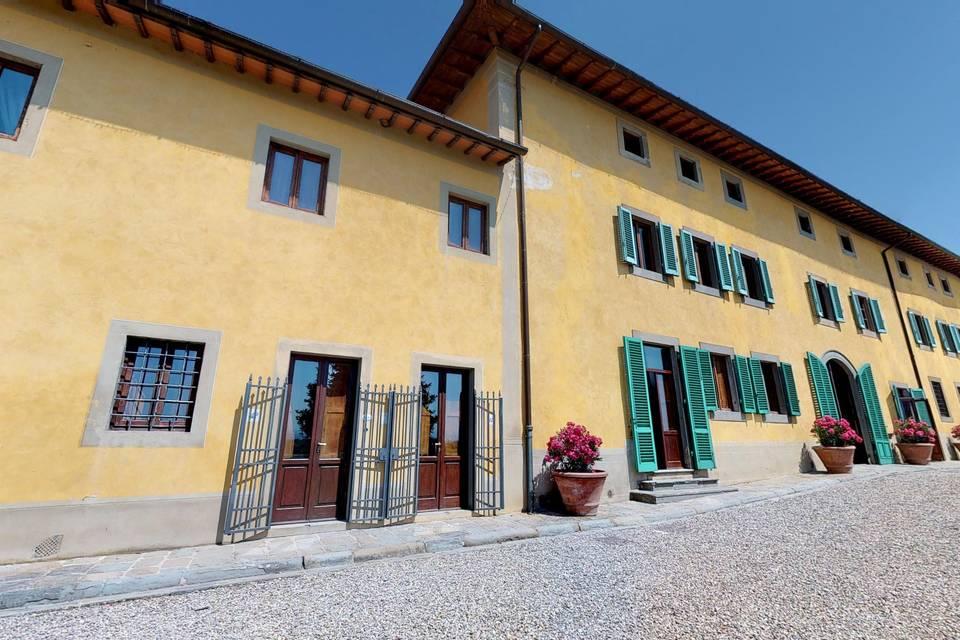 Villa La Palagina 3d tour