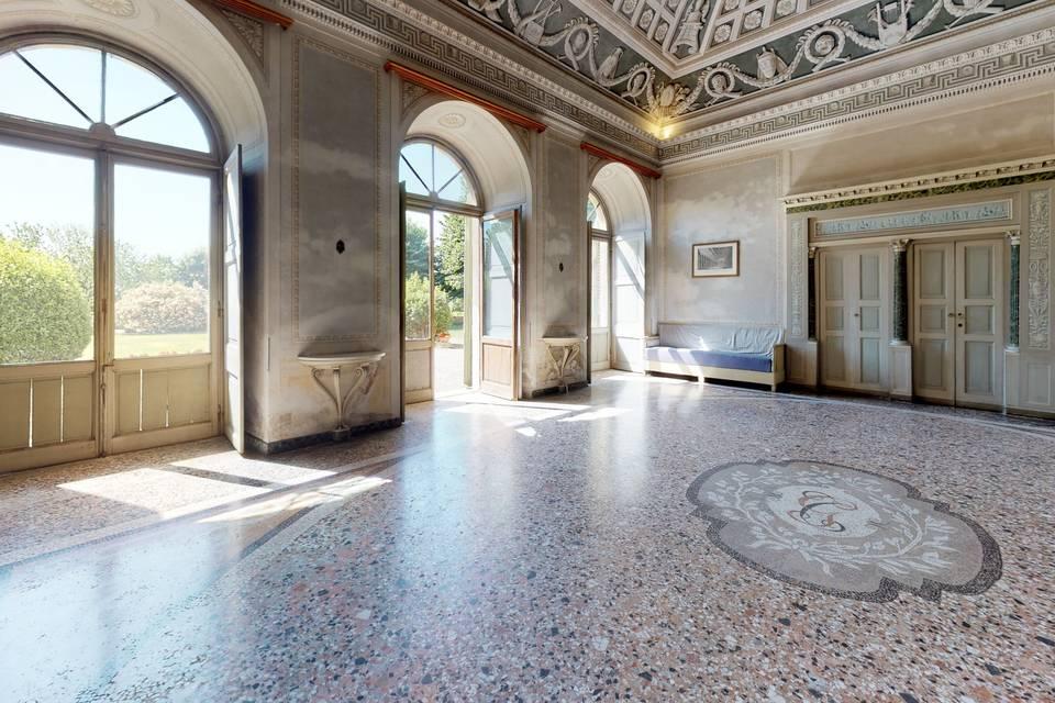 Villa Antona Traversi 3d tour