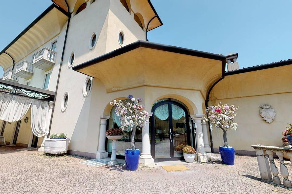 Villa Belvedere 1849 al Santuario di Caravaggio 3d tour