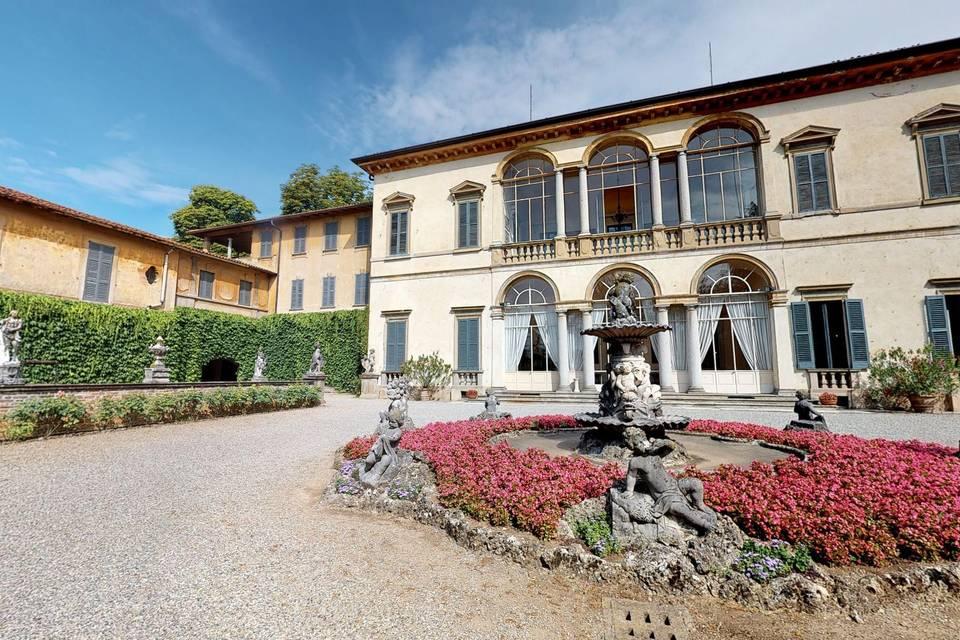 Villa Spalletti Trivelli 3d tour