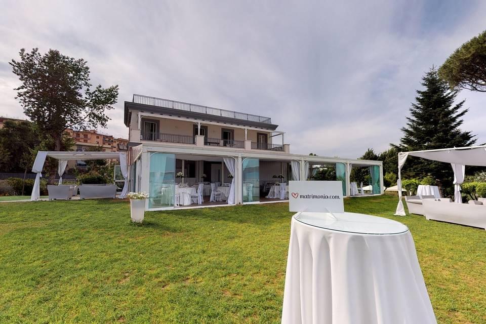 Villa Partenope 3d tour