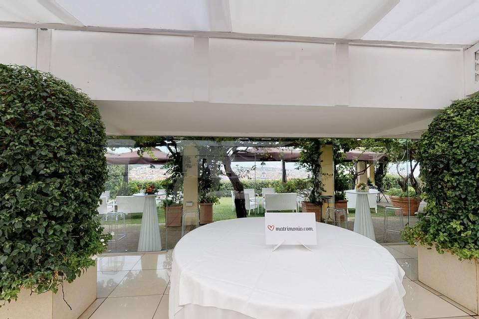 Hotel San Francesco al Monte 3d tour
