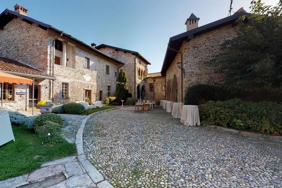 Castello di Cernusco Lombardone 3d tour