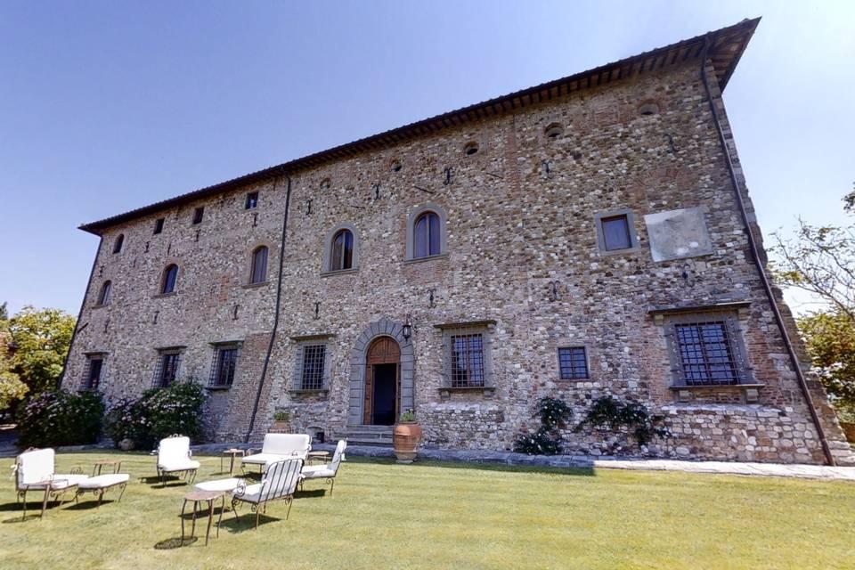 Castello di Bibbione 3d tour