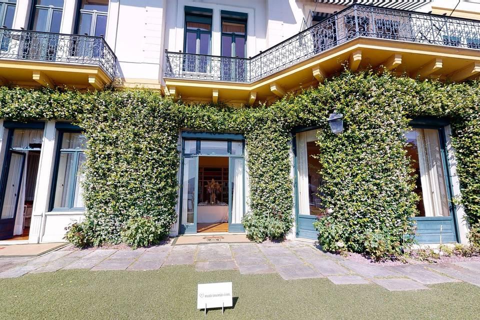 Villa Claudia dei Marchesi Dal Pozzo 3d tour