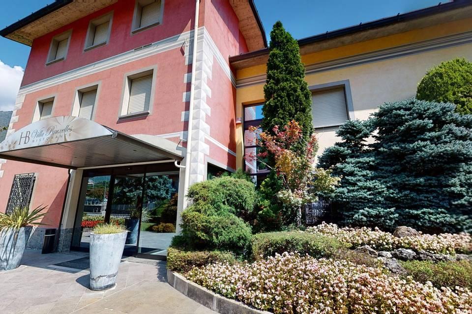 Villa Bruxelles Ristorante 3d tour