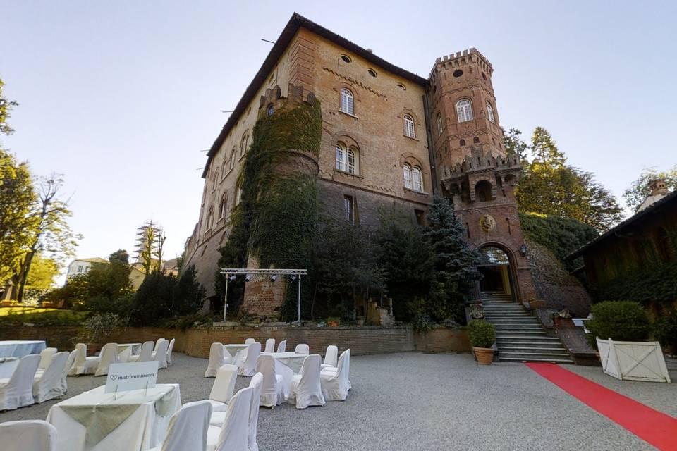 Castello di Oviglio 3d tour