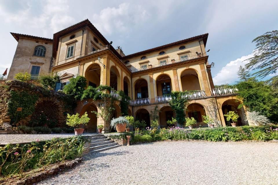 Villa di Striano 3d tour