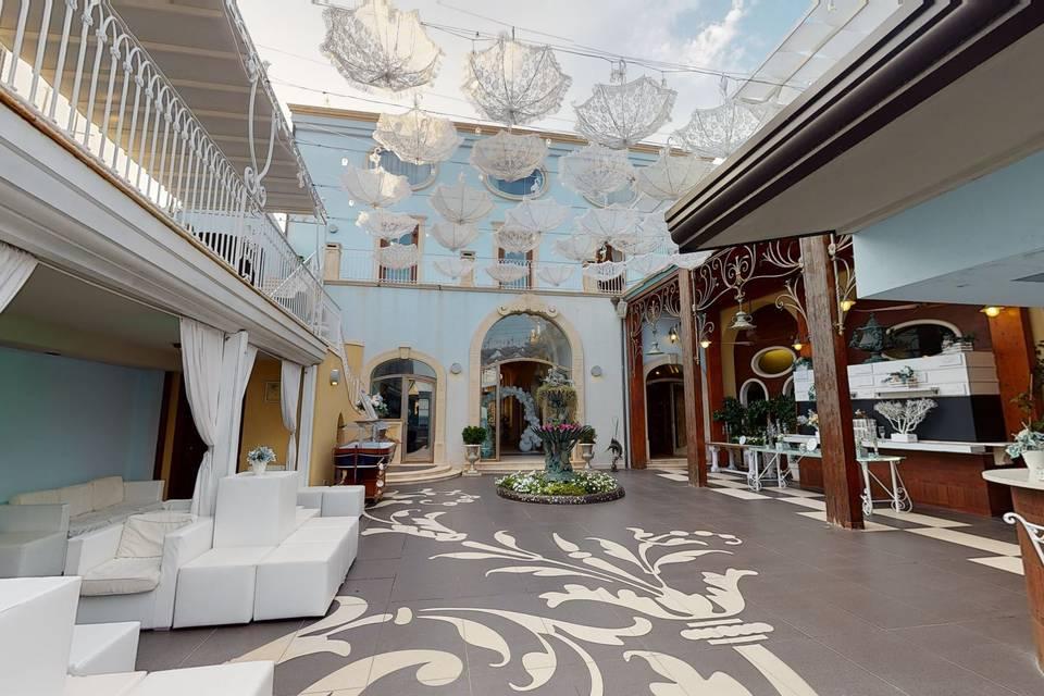 Palazzo Fiorini Ricevimenti sul mare 3d tour
