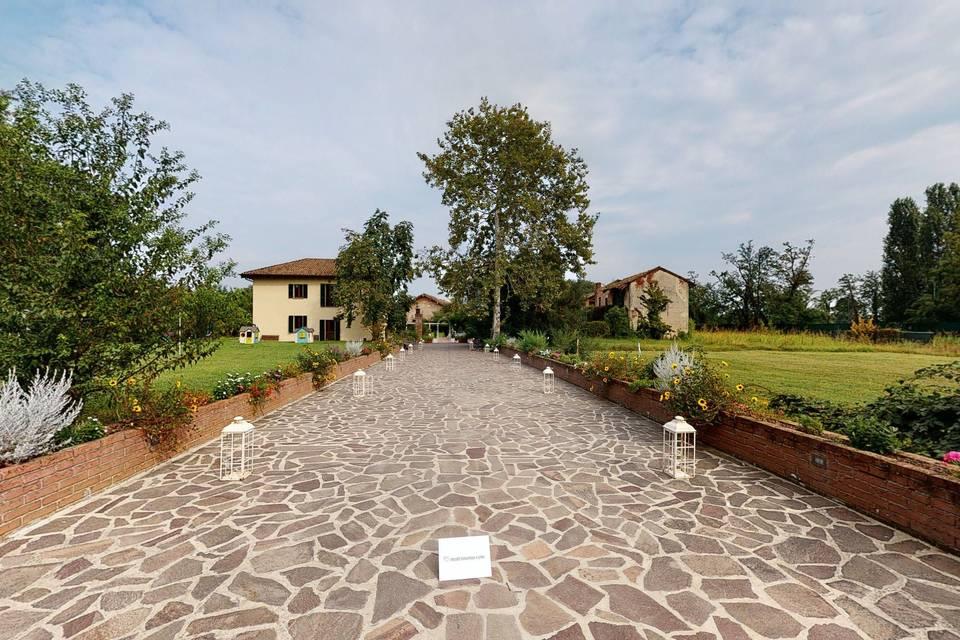 Antico Borgo in Città 3d tour
