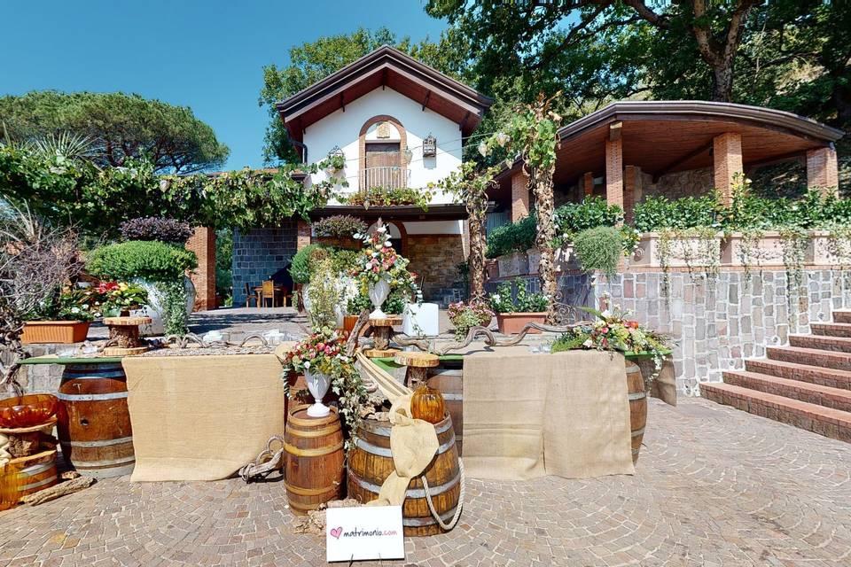 Villa Claudia Eventi 3d tour