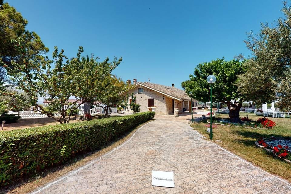 Villa Giardino Degli Eventi 3d tour