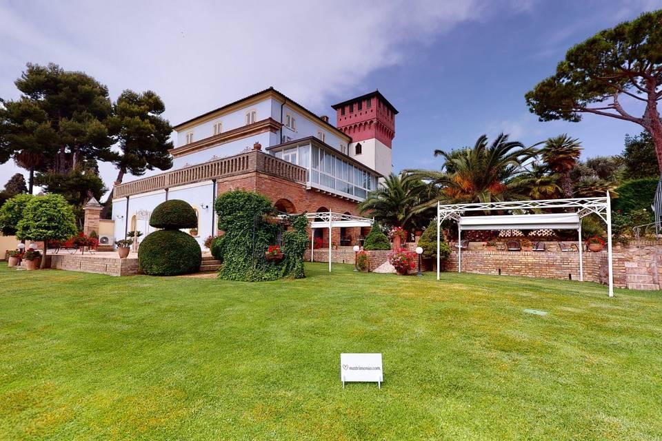 Romantic Relais Villa Rossi 3d tour