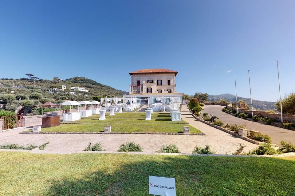 Villa Angelina Massa Lubrense 3d tour