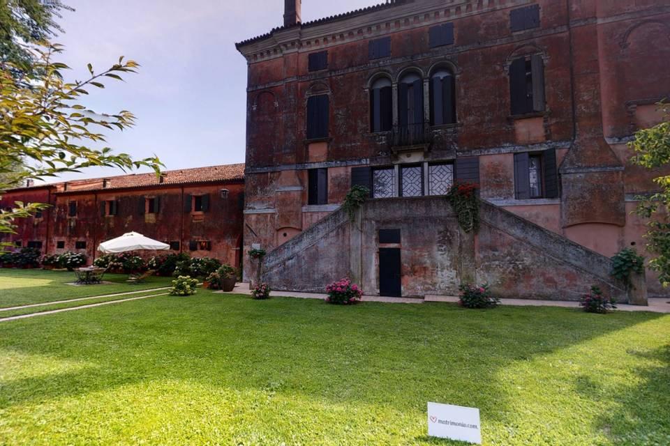 Villa Correr Agazzi 3d tour
