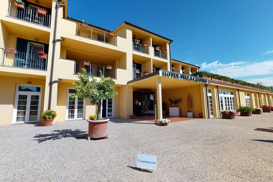 Hotel Villa Cappugi 3d tour