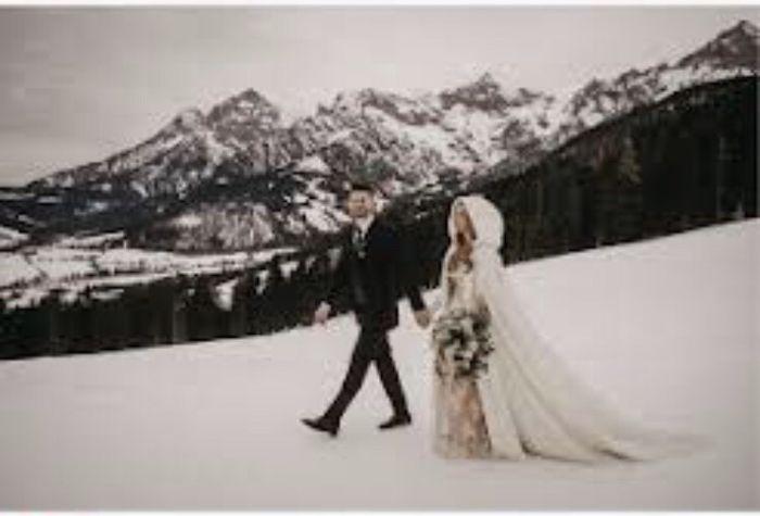Matrimonio sulla neve ❄️❤️ 1