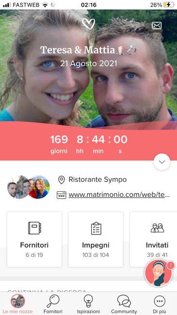 Quanti giorni mancano al tuo matrimonio? 2