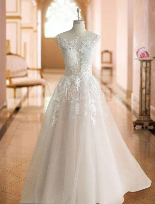 Il tuo abito da sposa è... 👰🏻 8