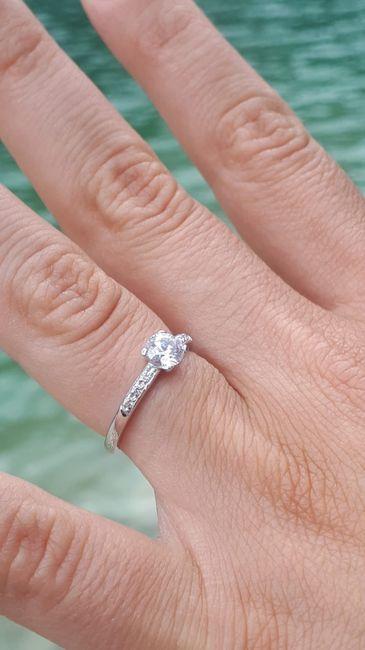 Anello di fidanzamento 1