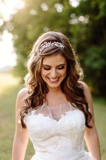 Tiara/coroncina , oppure no, al matrimonio?🥰 8