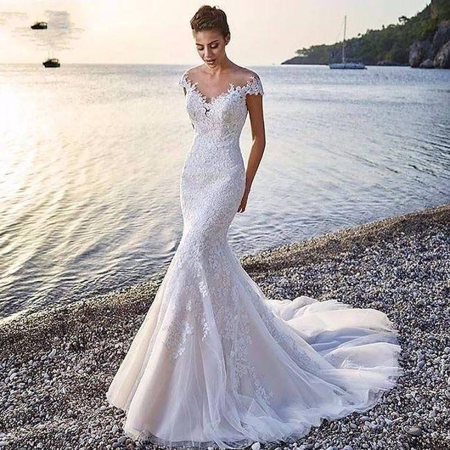 Abiti sirena sposa 🧜♀️ 👰♀️ 23
