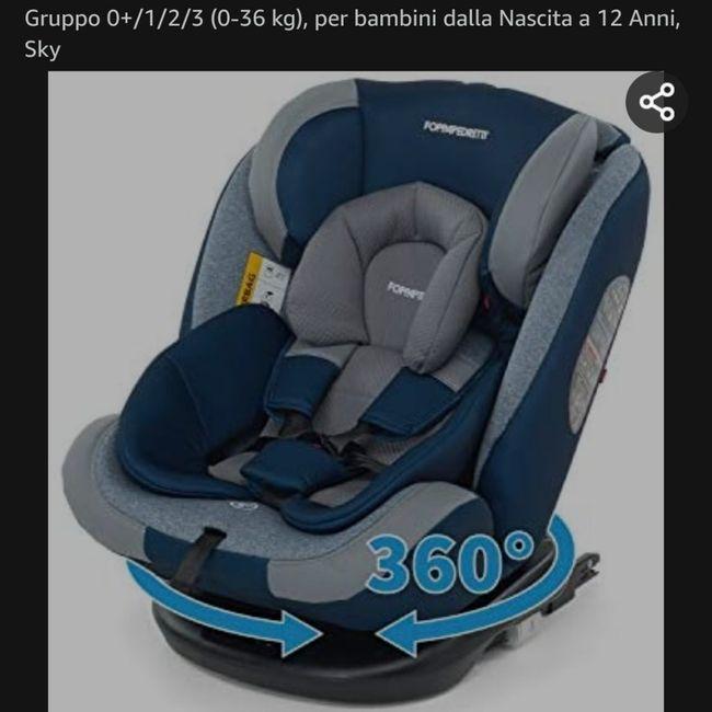 😵Seggiolino auto da usare dalla nascita a 36 kg aiutoo!! - 1