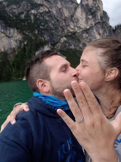In che modo hai ricevuto la proposta di matrimonio? 2