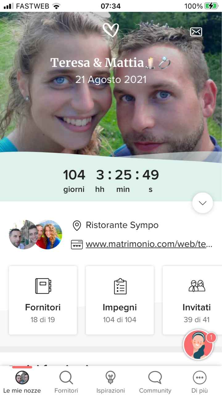 Countdown: quanto manca alle tue nozze? - 1