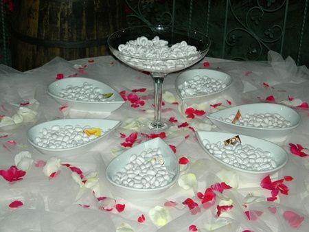 Come addobbare il tavolo della confettata organizzazione - Come addobbare la casa della sposa il giorno del matrimonio ...