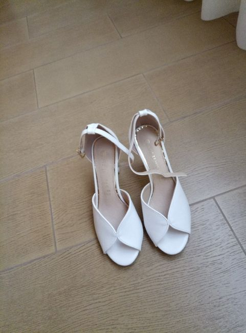 Avete trovato facilmente le scarpe da sposa? 3