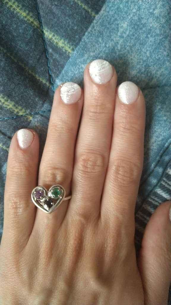Prova unghie e acconciatura fatte 😊 - 1