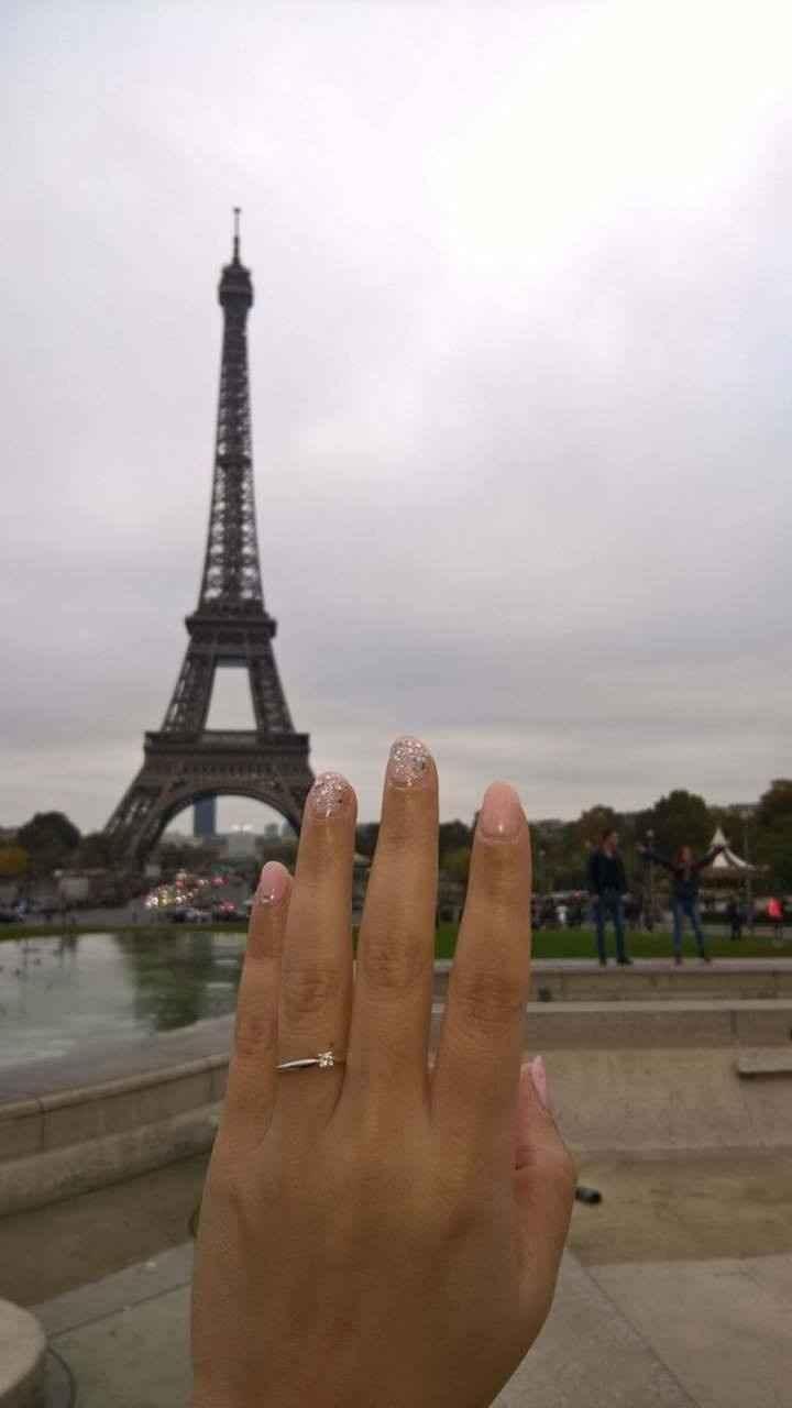 Anello vista Torre Eiffel