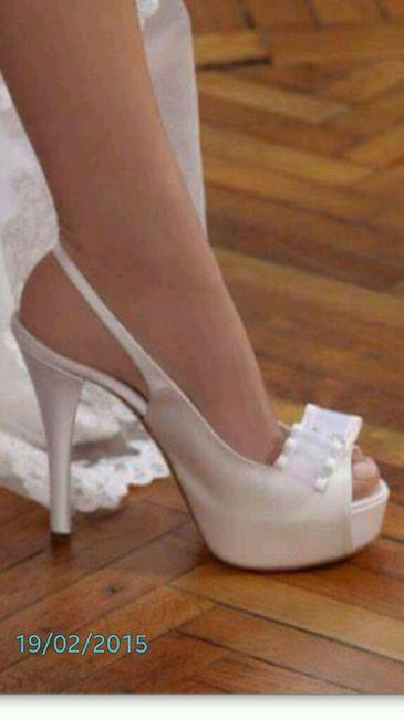 La mia idea di scarpa sposa - 1