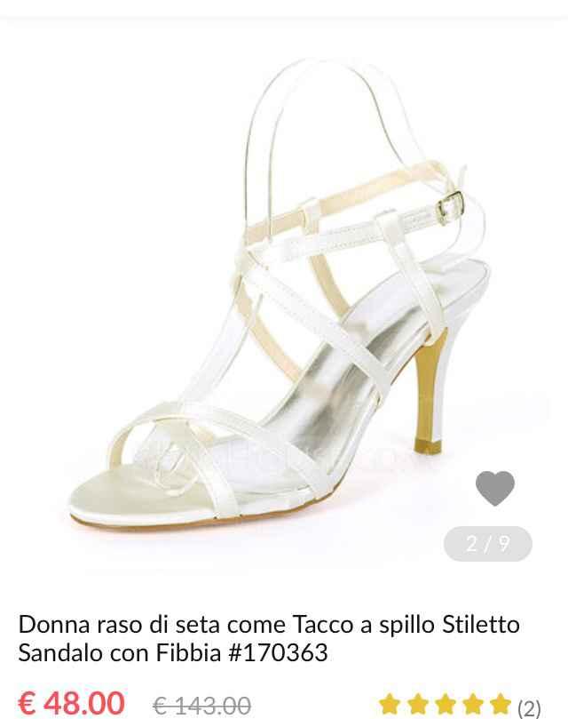 Sandalo sposa - 1