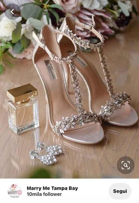 Taglie straniere scarpe sposa - 1