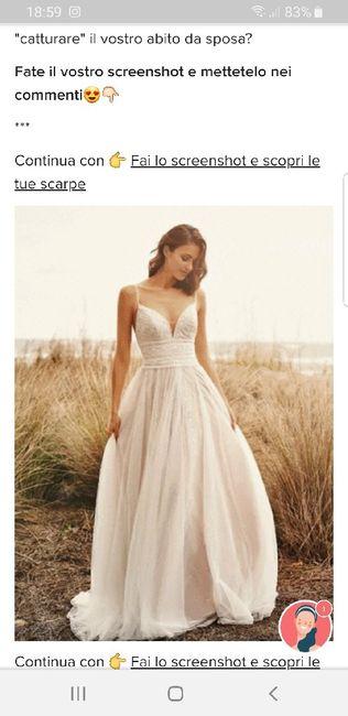 Fai lo screenshot e scopri il tuo abito da sposa 24