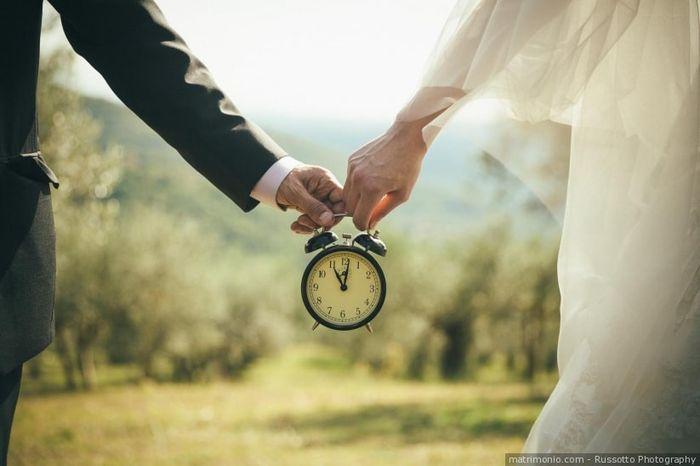 Quanti giorni mancano al tuo matrimonio? 1