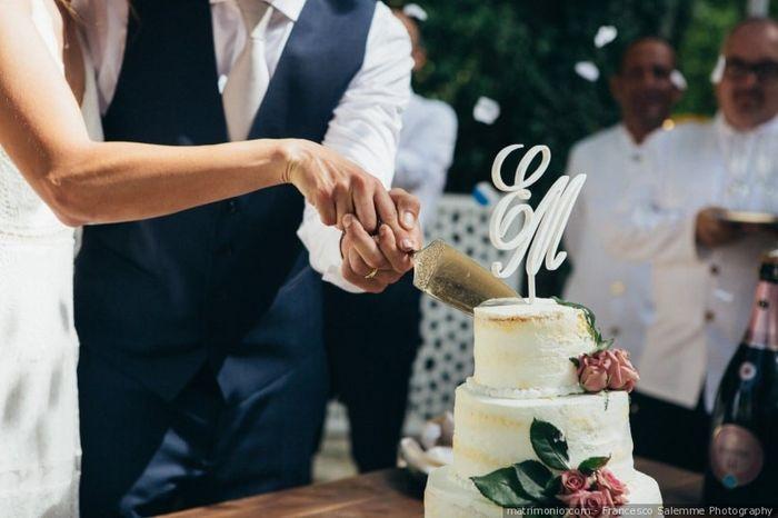A che gusto sarà la torta nuziale? 1
