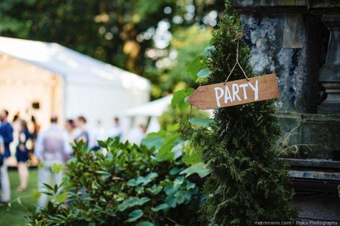 Quale invitato festeggerà con voi fino all'ultimo minuto? 1